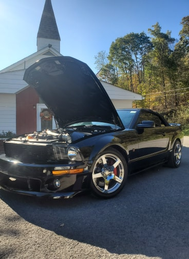 2008 Ford Mustang Roush BlackJack full