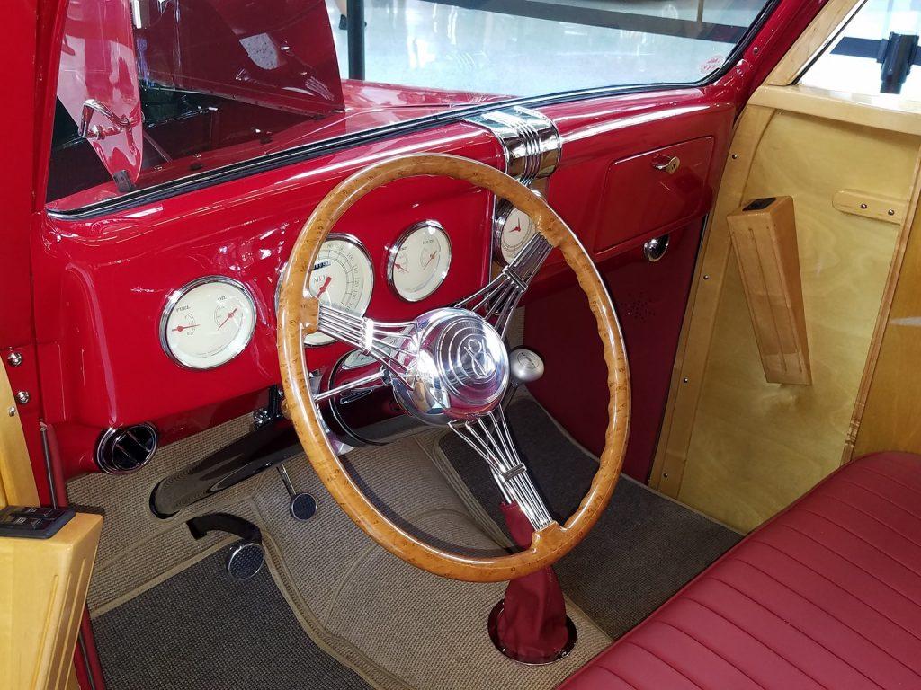 1936 Ford Woody full